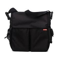Duo Diaper Bag/Stroller Bag - Black