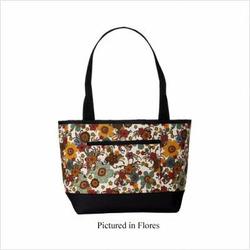 Pocket Tote Fabric: Velvet Ocean
