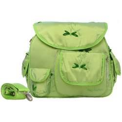 Baby Bee Bags Designer Eglan Dragonfly Silk Baby Diaper Bag Tote, Backpack, Messenger
