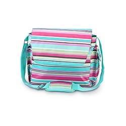 Laguna Stripe Diaper Bag