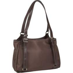 Chocolate Brown Azalea Diaper Bag by Amy Michelle