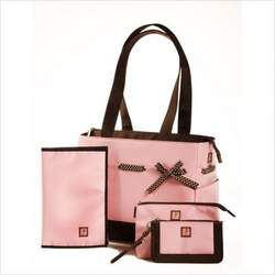 JP Lizzy Classic Tote Set - Strawberry Truffle