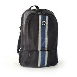 DadGear Diaper Bags - Center Stripe Blue Backpack - DAD050-1