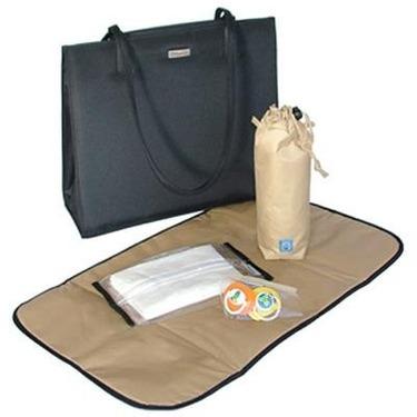 Shoulder Diaper Bag in Black
