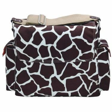 OiOi Messenger Diaper Bag-Giraffe Print - OIO052
