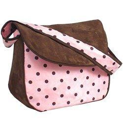 Dots Messenger Bag - Color Pink