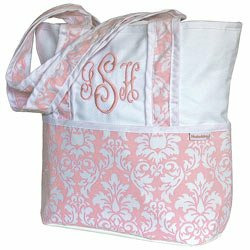 Versailles Tote Diaper Bag - Color Pink