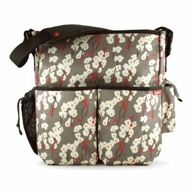 Skip Hop Duo Deluxe Edition Diaper Bag in Cherry Bloom - SKH078-1