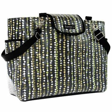 Black Bead Lexington Diaper Bag