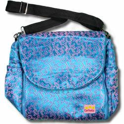 Blue Vines Silk Boutique Diaper Bag