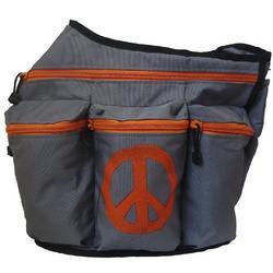 Diaper Dude Peace Diaper Bag - Gray