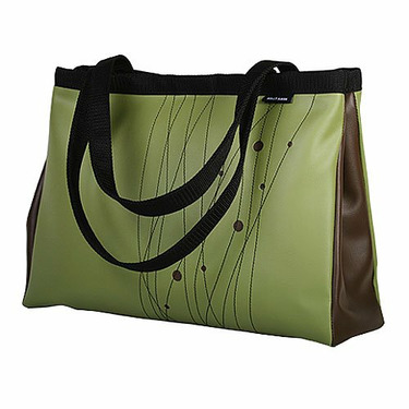 Avocado Turbo Large Snap Side Tote