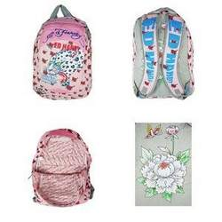 Christian Audigier Ed Hardy Backpack Light Pink Campus Bag DB-BG-003