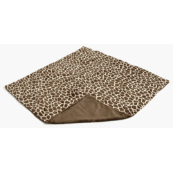 Gentle Kids wear Mnb - Gb Mini-Blanket - Giraffe and Brown