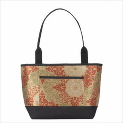 Baby Diaper Bag (Includes Removable Changing Pad) Fabric: Sabbia Pewter