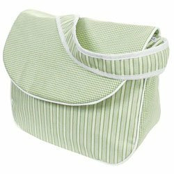 Sherbert Messenger Bag - Color Celery