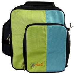 O Yikes Slingback Diaper Bag - Blueberry/ Key Lime