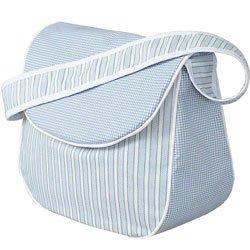 Sherbert Messenger Bag - Color Blue