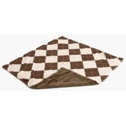 Gentle Kids wear Mnb - An-B Mini-Blanket - Argyle Almond and Brown
