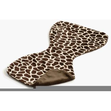 Gentle Kids wear Bbc - Gb Baby Burp Cloth - Giraffe and Brown