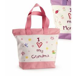 I Love my Grandma Tote (Pink)
