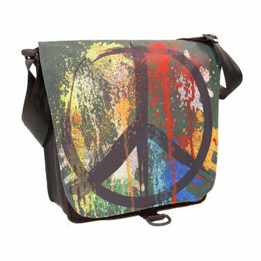 DadGear Satchel Diaper Bag - Peace