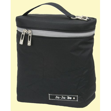 Ju Ju Be Fuel Cell Black Silver Lunch Bag