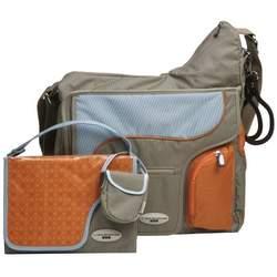 JJ Cole System Bag - Khaki/Sky