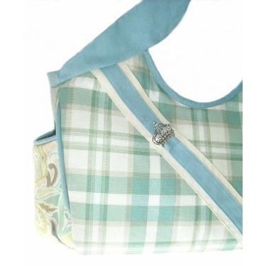 VANILLA FERN canvas diaper bag by Victorien Von Pippenpuppen