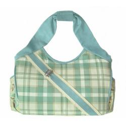 VANILLA FERN canvas diaper bag by Victorien Von Pippenpuppen
