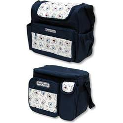 Diaper Bag and Matching Insulated Bottle Bag