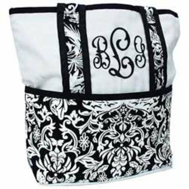 Versailles Tote Diaper Bag - Color Black