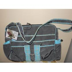 Kalencom Multitasking Diaper Bag Grey