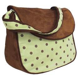 Dots Messenger Bag - Color Green
