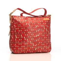 Suzi Diaper Bag Retro Dot Red