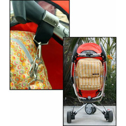 Ju Ju Be - Be Prepared Diaper Bag in Brown Bubblegum
