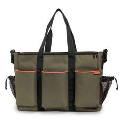 Skip Hop Duo Double - Canvas-Olive
