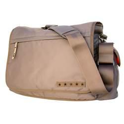 Ju Ju Be - JJB Messenger Diaper Bag in Khaki Mandarin