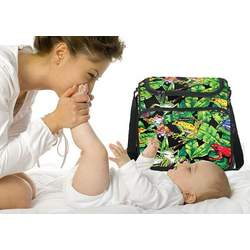 Tree Frogs Diaper Bag - Baby Bag for New Dad Father or Mom NEW Mother Baby Shower Gift Idea
