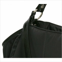 Mia Bossi MB1002 Katie Diaper Bag in Noir Black