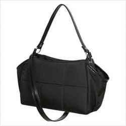 Mia Bossi MB1002 Katie Diaper Bag in Noir Black