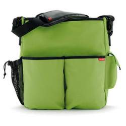 Duo Deluxe Diaper Bag in Apple Green