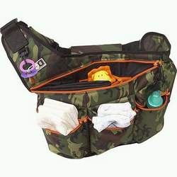 Diaper Dude Diaper Bag Camouflage Peace