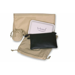 Baby Kaed - B-kaed Leather Jaipur Diaper Bag in Espresso