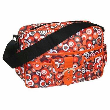 Baby & Co KC1033 Bubbles Orange Multitasker Bag