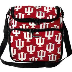 IU Indiana University Logo Diaper Bag - Baby Bag for New Dad Father or Mom NEW Mother Baby Shower Gift Idea