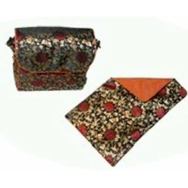 Shanghai Frizzi Caramel Convertible Messenger Diaper Bag