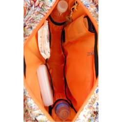 Diaper Dude Orange Lotus Diva Bag (Orange lotus)