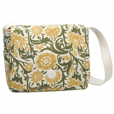 Green Floral Soapbox The Moppet Diaper Bag - Green Floral