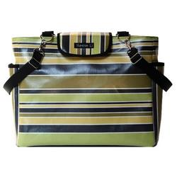 Black Stripe Lexington Diaper Bag